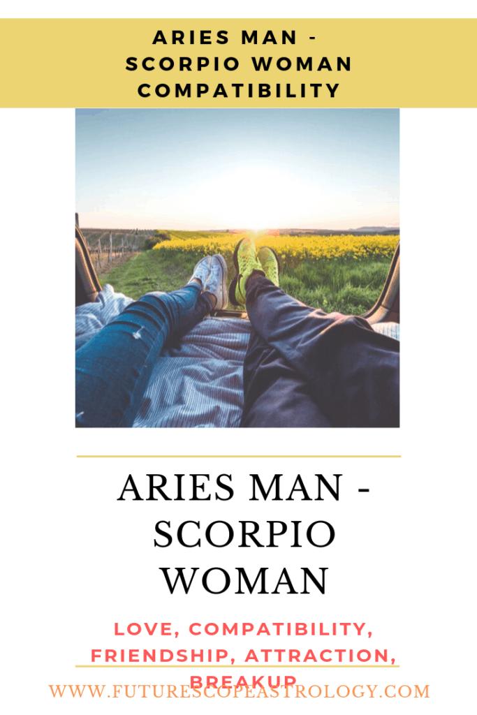 Aries Man and Scorpio Woman love compatibility