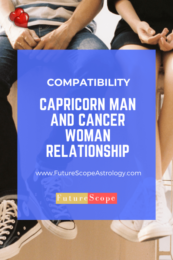 Capricorn Man and Cancer Woman love compatibility