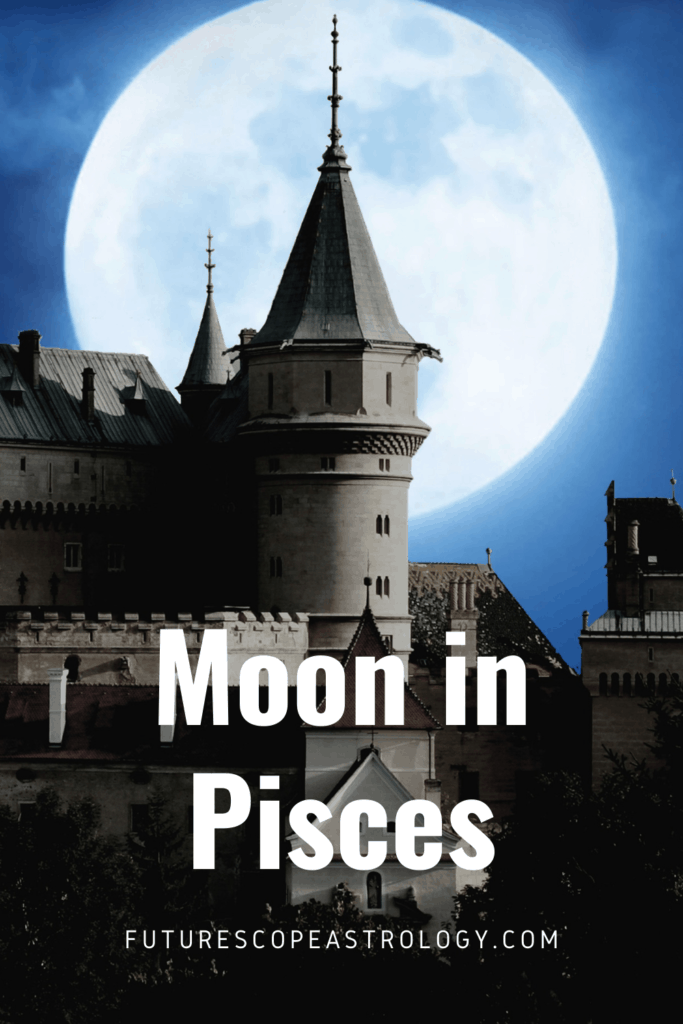 Moon in Pisces or Meena in a Horoscope