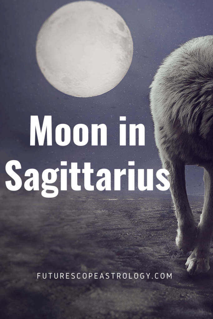 Moon in Sagittarius or Dhanu in a Horoscope