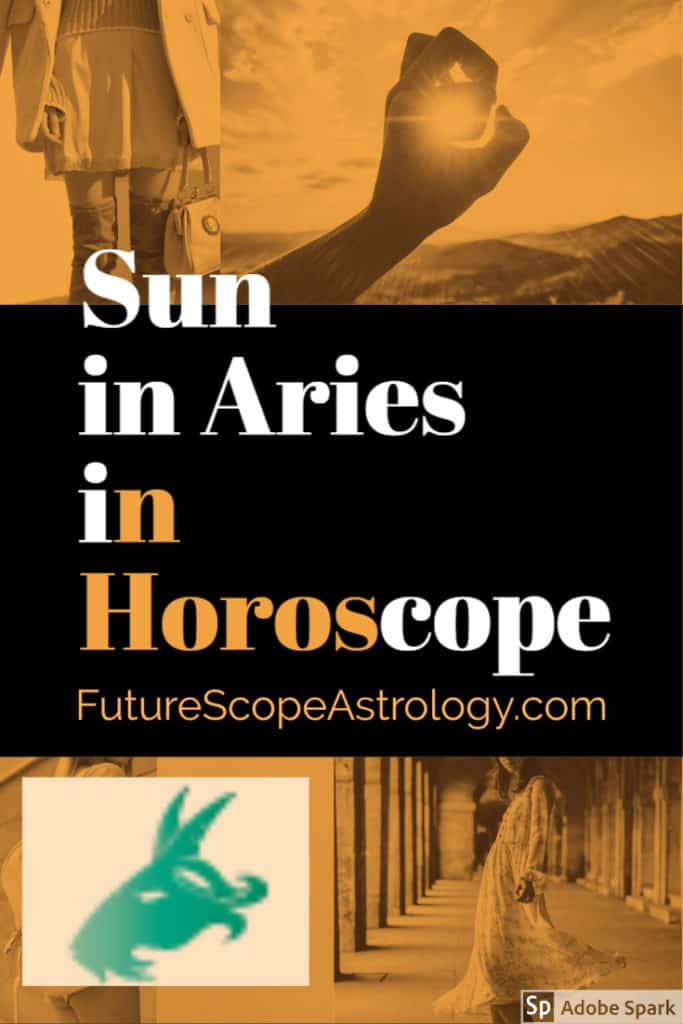 Sun in Aries or Mesha in a Horoscope