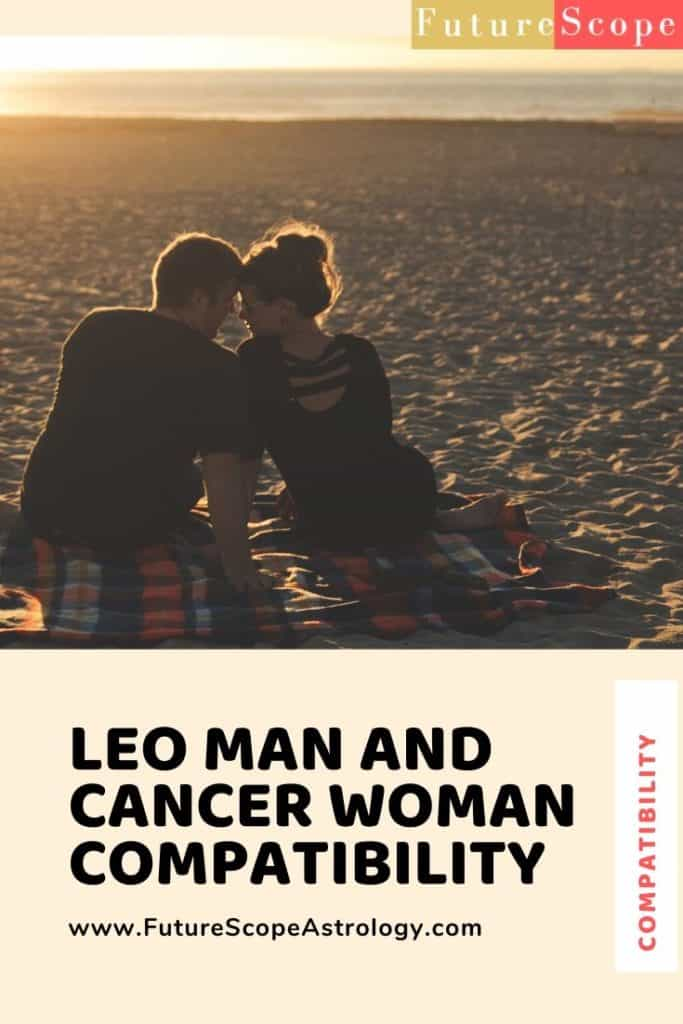 Leo Man and Cancer Woman love compatibility