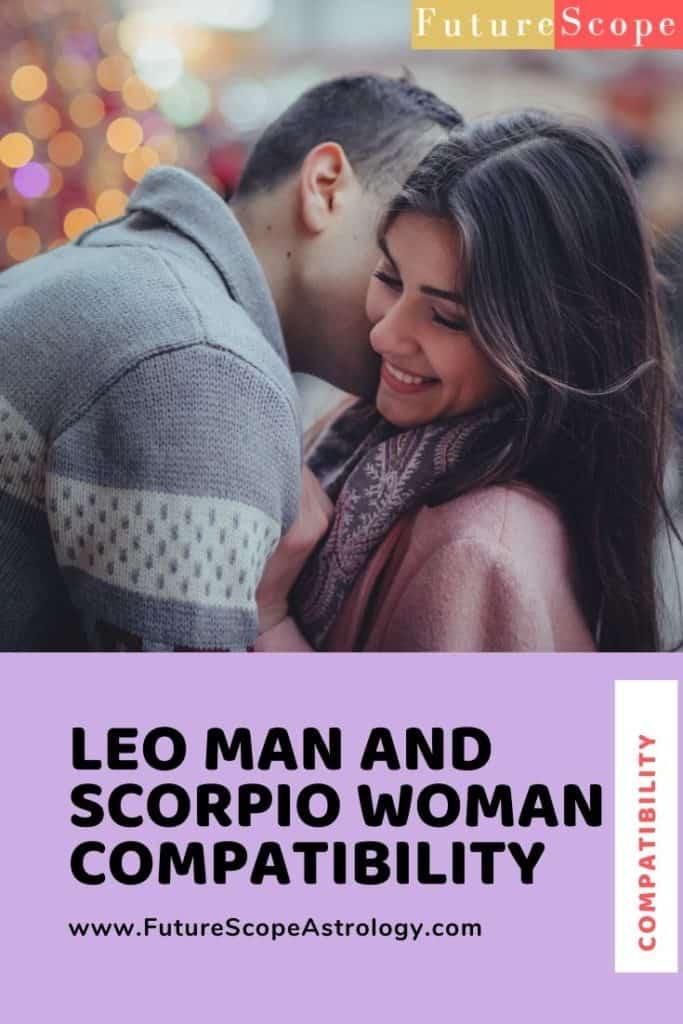 Leo Man and Scorpio Woman love Compatibility