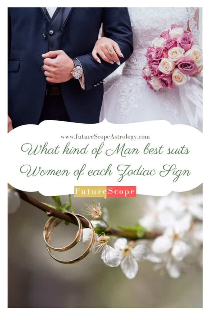What kind of Man best suits Women of each Zodiac Sign