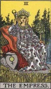 The Empress Tarot Card Meaning Major Arcana Card 3