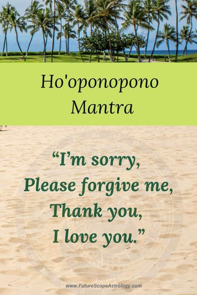 Ho'Oponopono mantra: what it is and why it is important to practice it