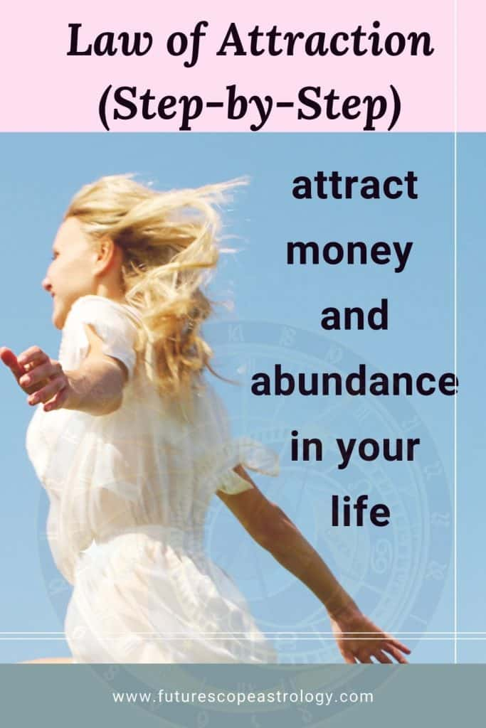 Law of Attraction : attract money and abundance in your life (step-by-step)