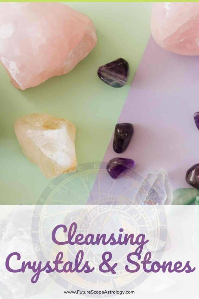 Cleansing Crystals and Stones : need, methods